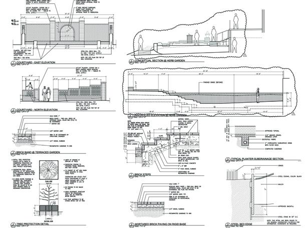 Construction Documents - Landscape Architecture | The Penland Studio