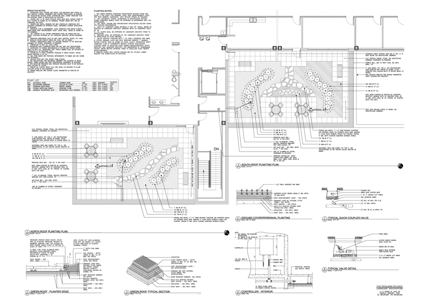 Construction Documents Landscape Architecture The Penland Studio